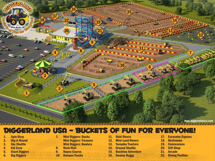 DIggerland USA West Berlin NJ