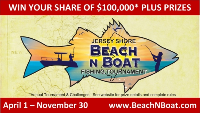 Jersey Shore Vacations Fishing Tournaments