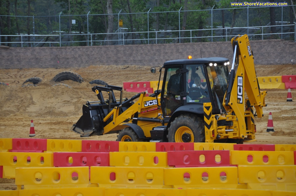 Jersey Shore Attractions: Diggerland Drive a Backhoe