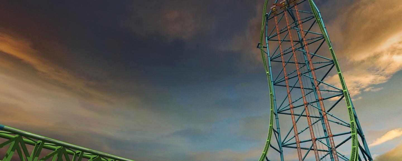 Jersey Shore Amusement Parks Zumanjaro Six Flags