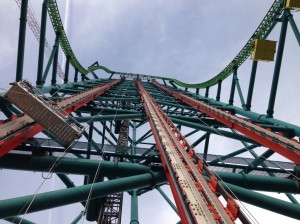 NJ Six Flags Great Adventure Zumanjaro Drop of Doom