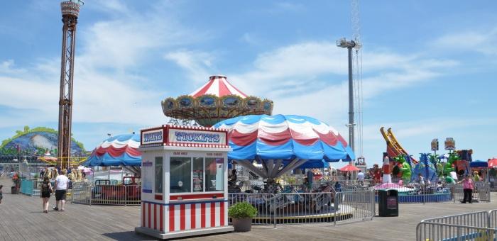 Jersey Shore Attractions Casino Pier Seaside