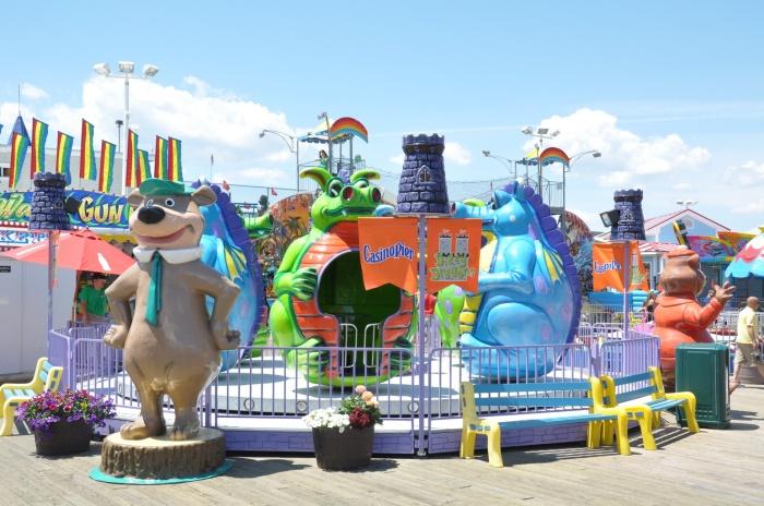 Jersey Shore Amusement Parks: Casino Pier