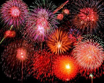 Jersey Shore July 4 Fireworks Parades