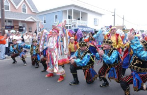 Wildwood Events: Mummers Brigade Weekend