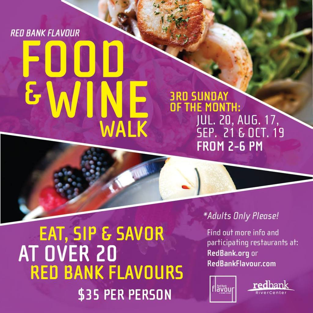 Red Bank Events: Food and Wine Walk 2014