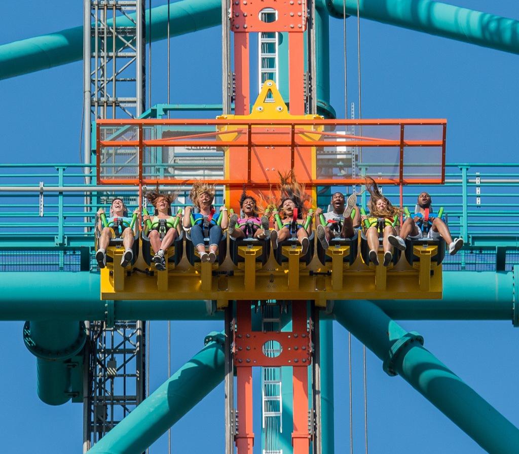 Zumanjaro Drop of Doom Six Flags Great Adventure