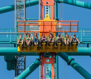 Zumanjaro Drop of Doom Six Flags Great Adventure