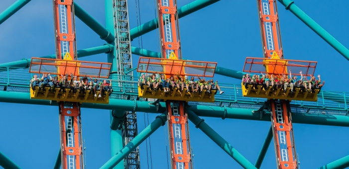 New Jersey Amusement Parks Six Flags Zumanjaro