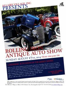 Allaire Village Rolling Iron Antique Auto Show