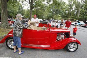 Allaire Village Rolling Iron Antique Car Show