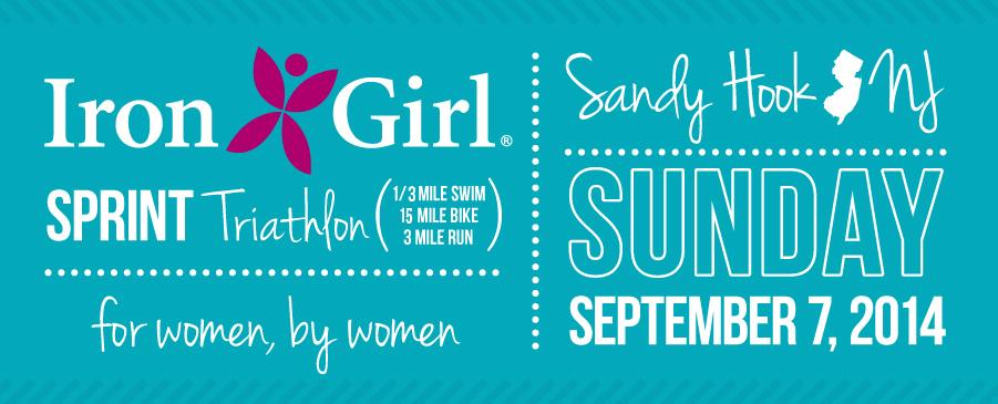 Iron Girl Sandy Hook Women Triathlon NJ