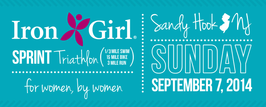 Iron Girl Sandy Hook Women Triathlon NJ