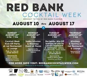Red Bank Cocktail Week