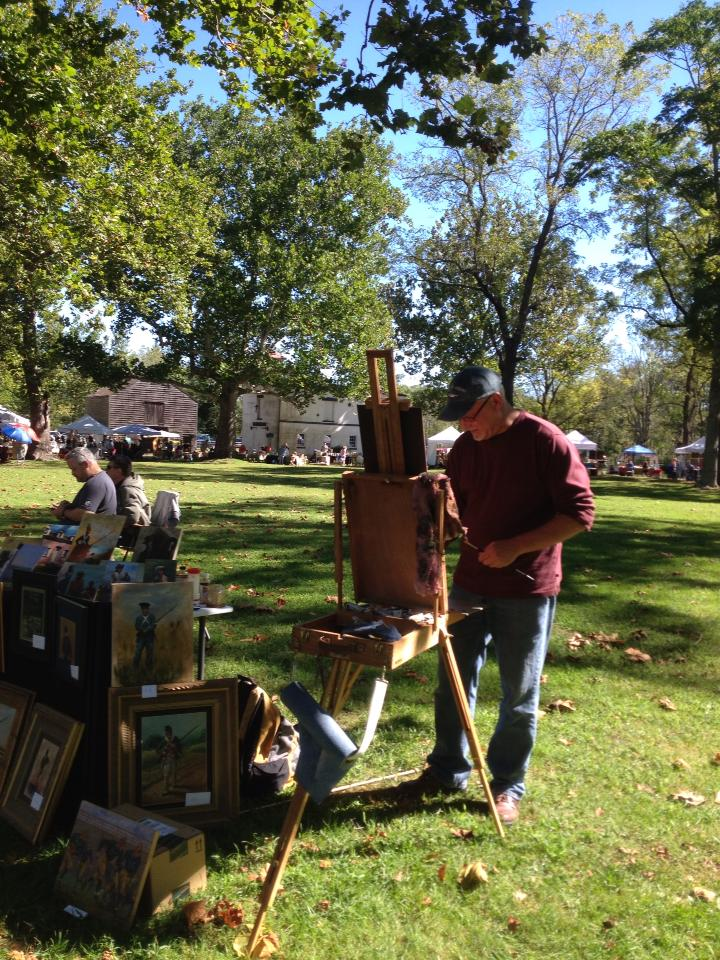 Allaire Village Art in the Park Crafters Market