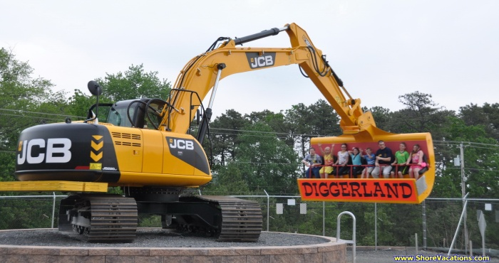 Diggerland New Jersey Review Spindizzy