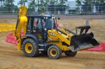 Diggerland New Jersey Driving a Backhoe