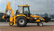 Diggerland USA World's Fastest Backhoe JCB GT