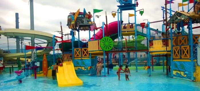 Keansburh Amusement Park RUnaway Rapids Review