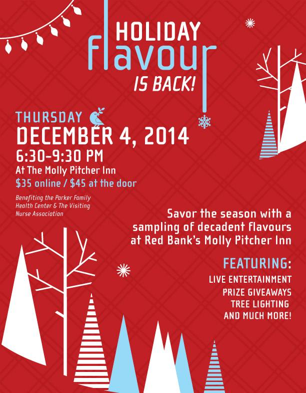Red Bank Holiday Flavour 2014 Molly Pitcher Inn