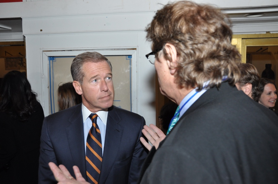 New Jersey Hall of Fame: Brian Williams and Cal Schwartz