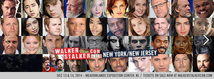 Walker Stalker Con NJ NY 2014