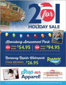 Keansburg Amusements Park Holiday Tickets Sale