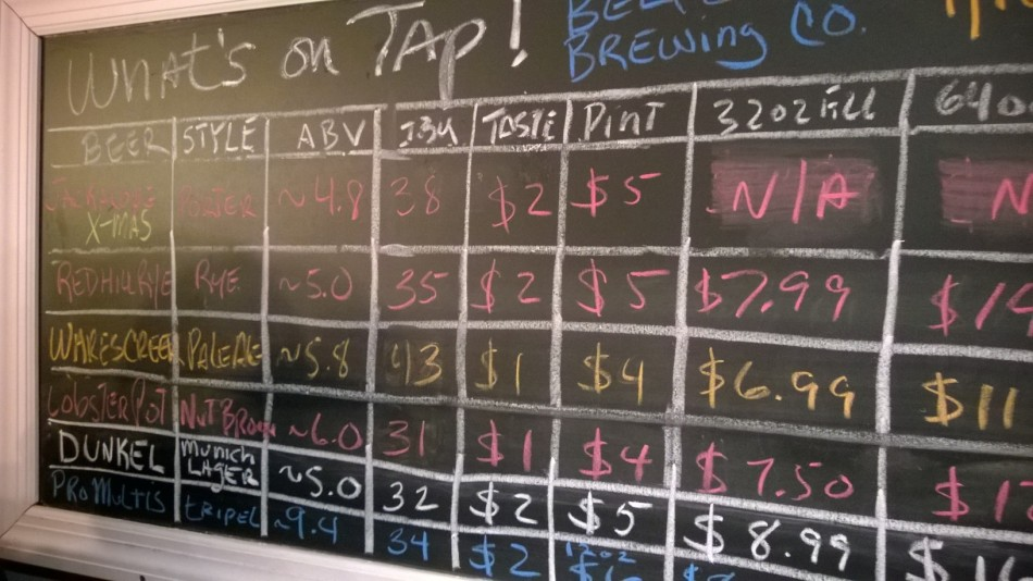 Belford Brewing Review - Breweries Monmouth County NJ