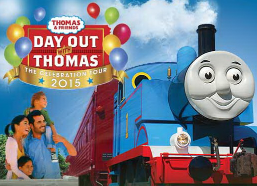 Delaware Railroad - Day Out with Thomas Train 2015