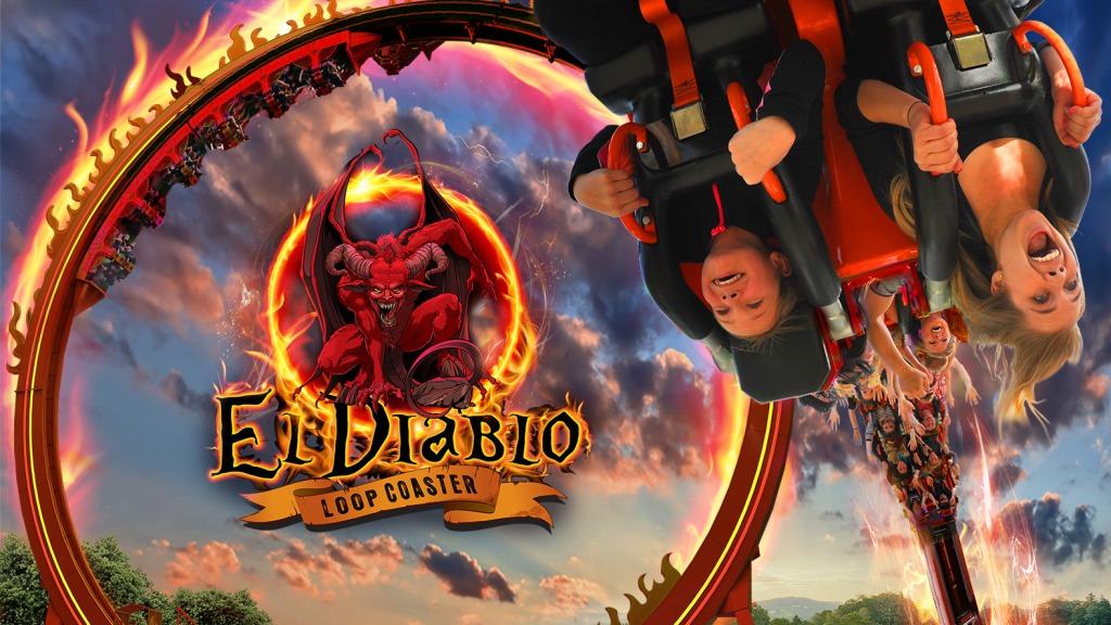 Six Flags Great Adventure El Diablo