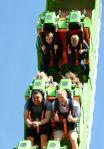 Six Flags NJ El Diablo Looping Coaster