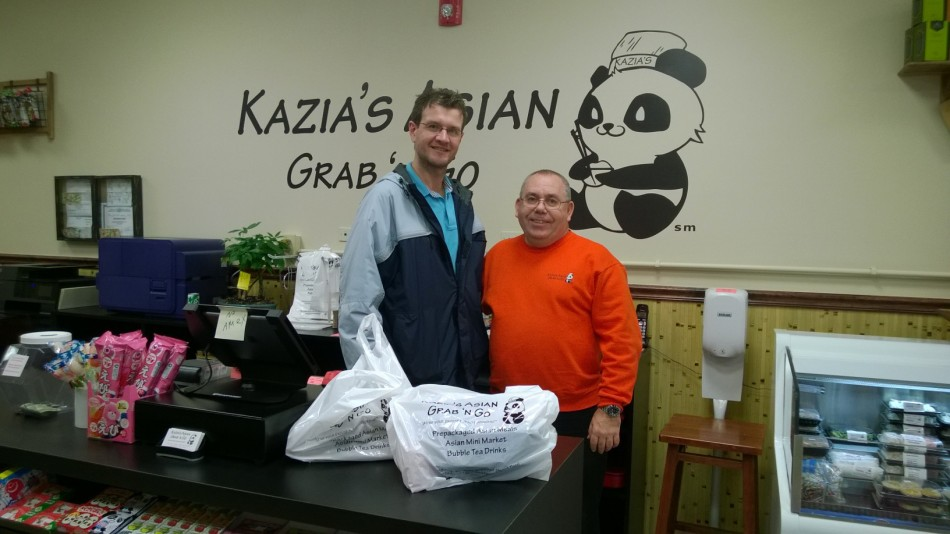 Kazia's Asian Food Monmouth County Cliff Moore