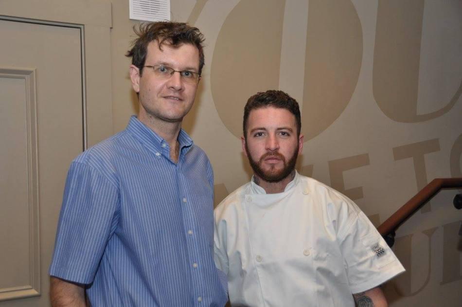 Cross & Orange Review Chef Sam Byrne