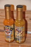 NJ Hot Sauces Trinidad Scorpion Habanero Jalapeno