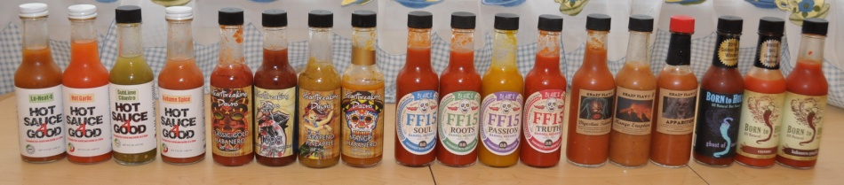 Best New Jersey Hot Sauces competition