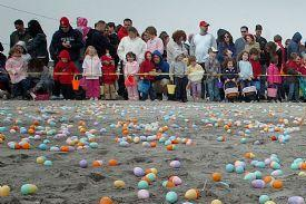 New Jersey Beach Easter Egg Hunts