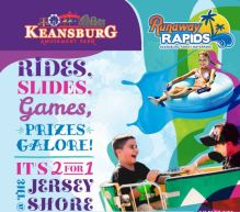 Keansburg Amusement Park Spring Sale 2 for 1