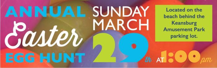 Keansburg Amusement Park Easter Egg Hunt