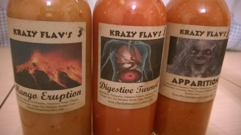 Krazy Flav Hot Sauces New Jersey Review
