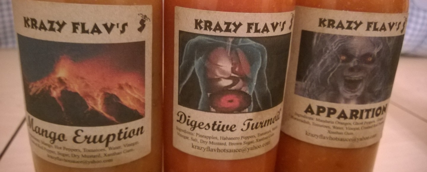 Krazy Flav Hot Sauces New Jersey Review