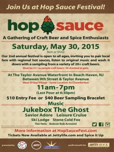 Hop Sauce Festival 2015 Beach Haven LBI