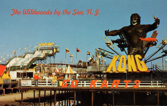 Morey's Piers Wildwood new Kong ride