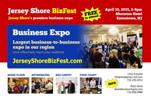 Jersey Shore Biz Fest Eatontown April 15
