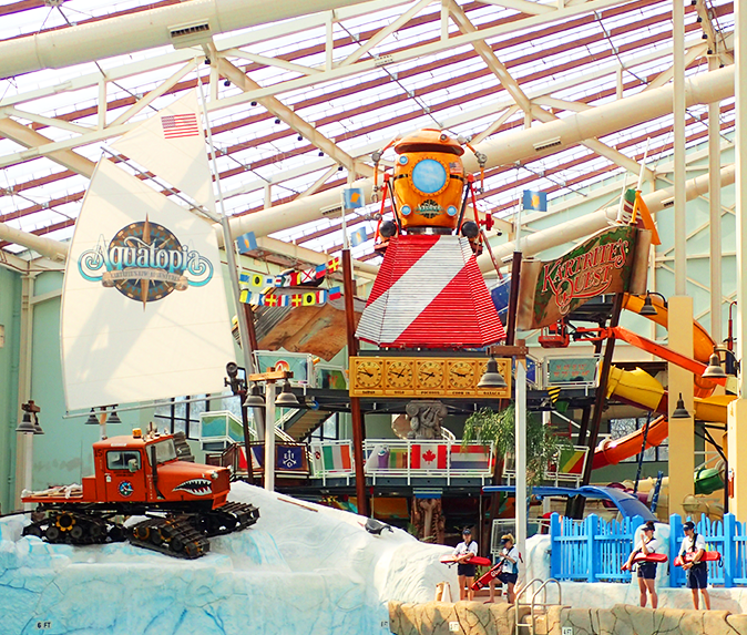 Camelback Indoor Water Park Poconos Attractions