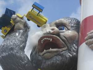 Jersey Shore Morey's Piers Wildwood Kong Ride