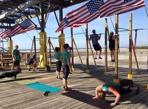 Wildwood MURPH Challenge Workout Morey's Piers
