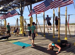 Wildwood MURPH Challenge Workout Morey's Piers