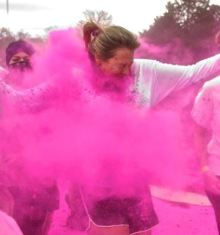 Six Flags NJ events: Color Run