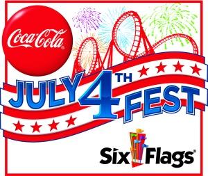 Six Flags NJ July 4th Fest