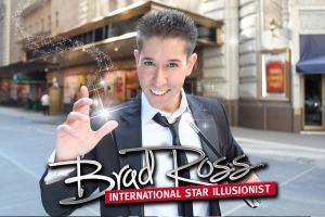 Illusionist Brad Ross at Six Flags Great Adventure